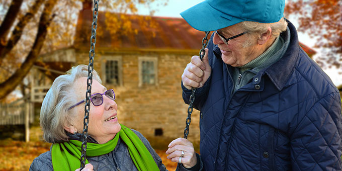 older couple ready to retire