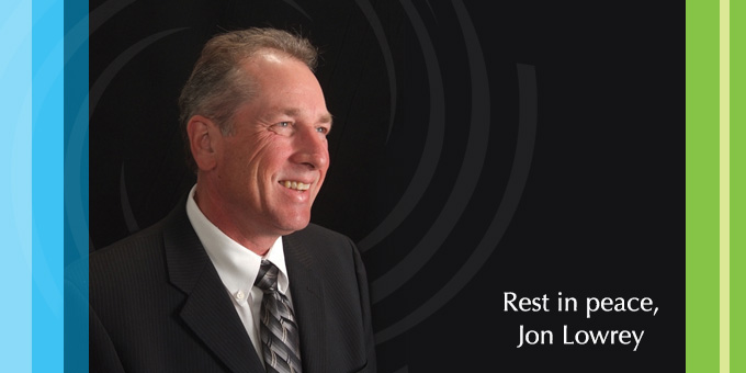 Announcing the passing of DCCU's CEO, Jon Lowrey
