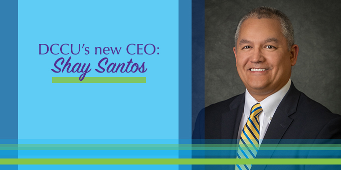 Shay Santos, DCCU's new CEO