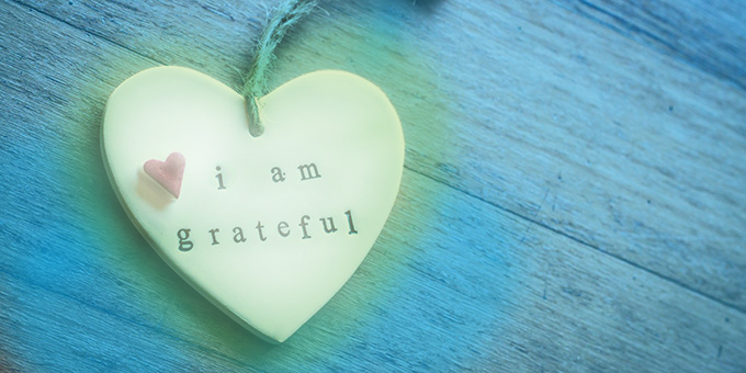 Heart says I am grateful