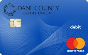 Dane County Credit Union's debit Mastercard