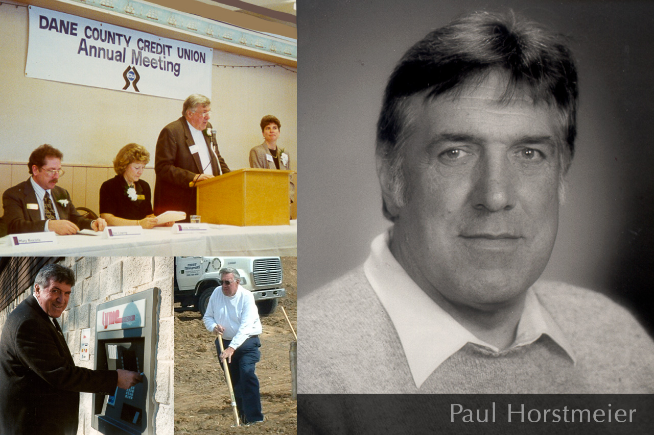 Former DCCU Board Chairman passes away - Paul Horstmeier