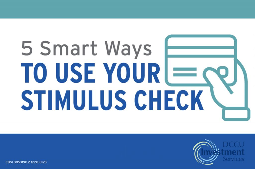 5 smart ways to use your second stimulus check