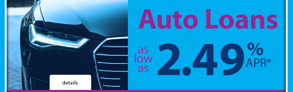 Low auto loan rates and quick and easy vehicle loan approvals at Dane County Credit Union.