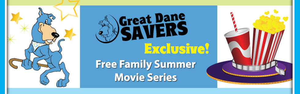 Enjoy free fmaily movies this summer with our savings accounts for kids club.