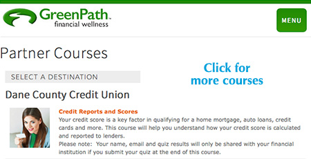 Green Path financial courses online